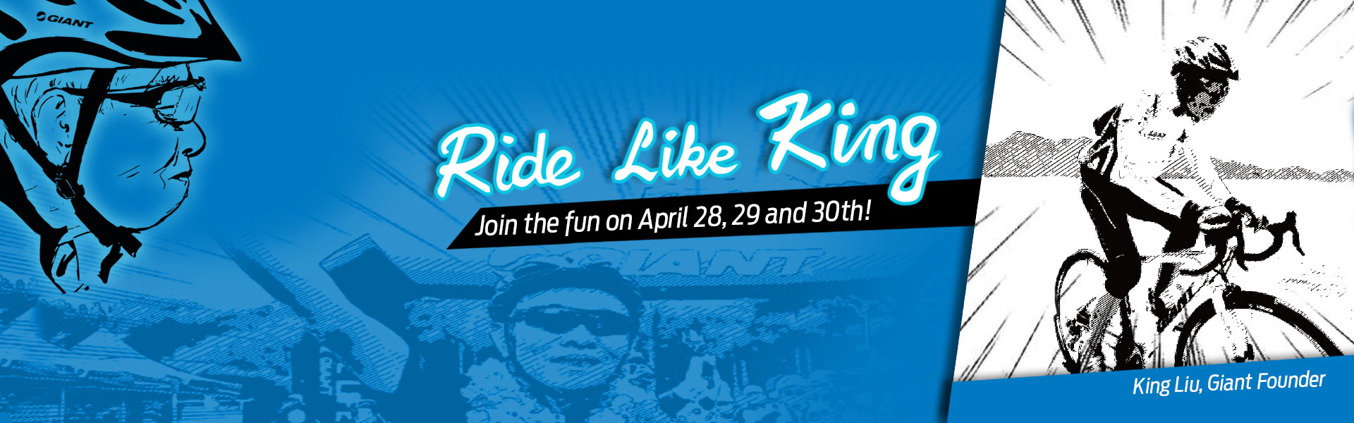Ride Like King Event