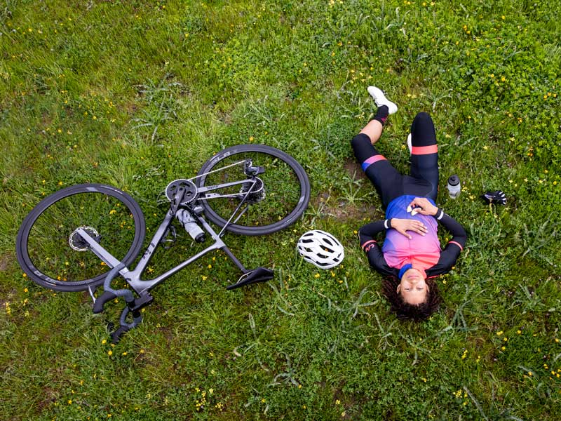 Equipamiento para ciclistas