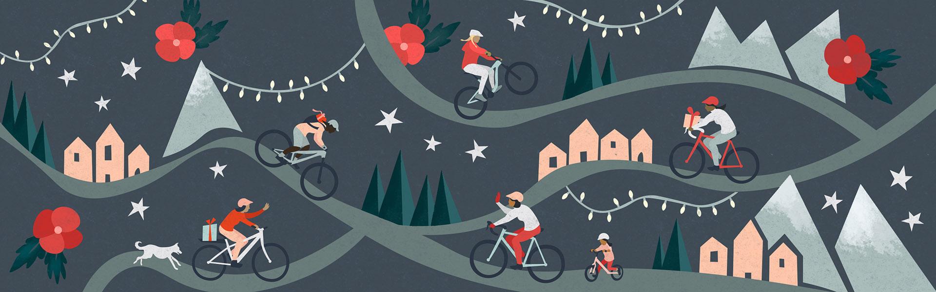 Regalos para la ciclista de trail